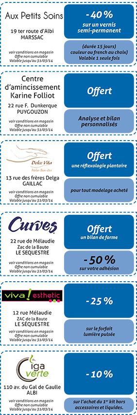 Coupons Albi 2013-2014