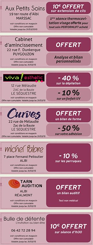 Albi - Les Coupons Automne-Hiver 2014-2015