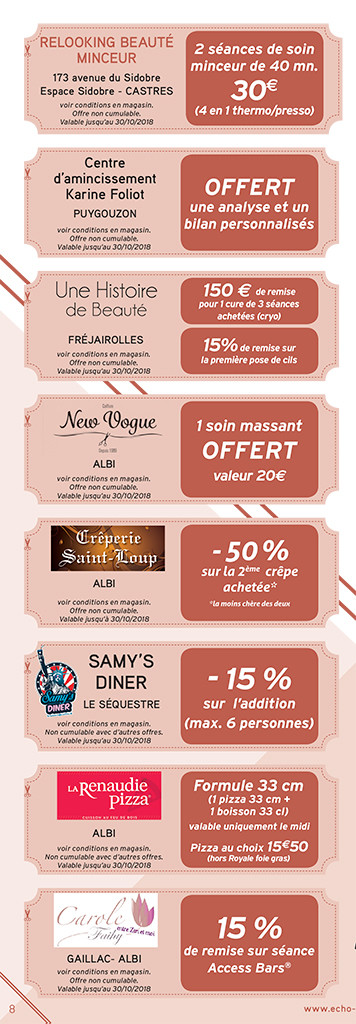 Albi Coupons 2018